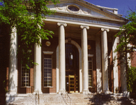 Wesleyan University's Olin Library